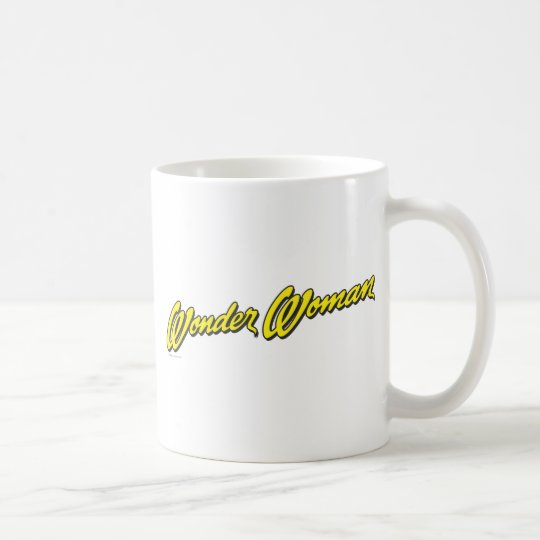 Wonder Woman Name Coffee Mug