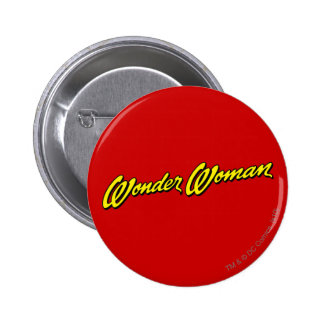 Wonder Woman Name Pinback Button