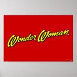 Wonder Woman Name Poster