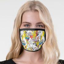 Wonder Woman Neon Pattern Face Mask