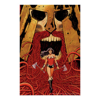 Wonder Woman New 52 Comic Cover #23 Poster