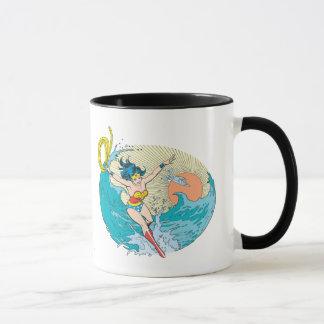 Wonder Woman Ocean Sky Mug