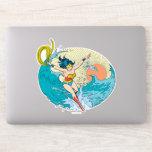 Wonder Woman Ocean Sky Sticker