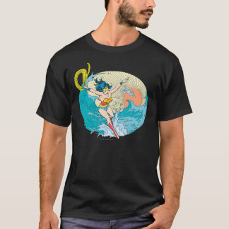 Wonder Woman Ocean Sky T-Shirt