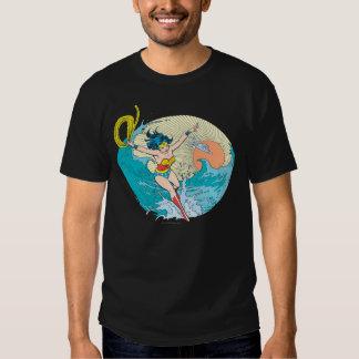 Wonder Woman Ocean Sky T Shirts