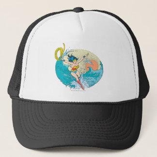 Wonder Woman Ocean Sky Trucker Hat