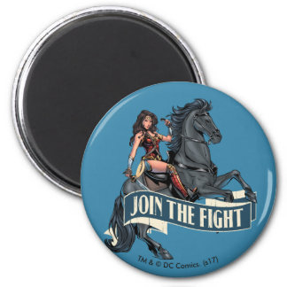 Wonder Woman on Horse Comic Art Magnet