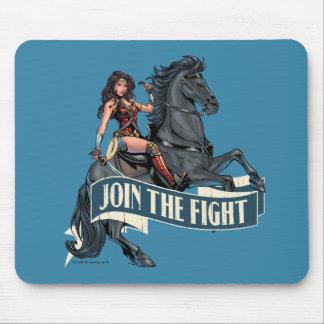 Wonder Woman on Horse Comic Art Mouse Pad