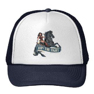 Wonder Woman on Horse Comic Art Trucker Hat