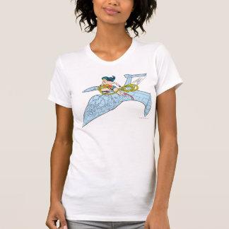 Wonder Woman on Spaceship T-shirts