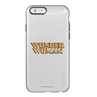 Wonder Woman Orange Logo Incipio Feather® Shine iPhone 6 Case