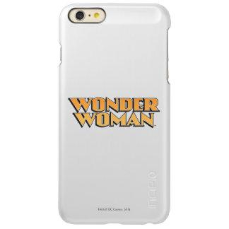 Wonder Woman Orange Logo Incipio Feather® Shine iPhone 6 Plus Case
