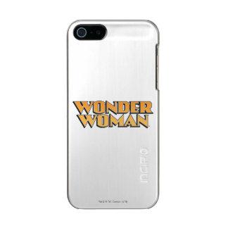 Wonder Woman Orange Logo Metallic iPhone SE/5/5s Case