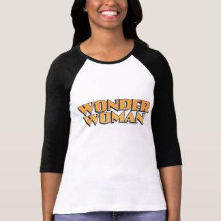 Wonder Woman Orange Logo T-shirt