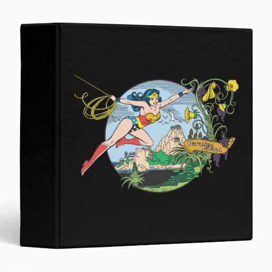 Wonder Woman Paradise Island Binder