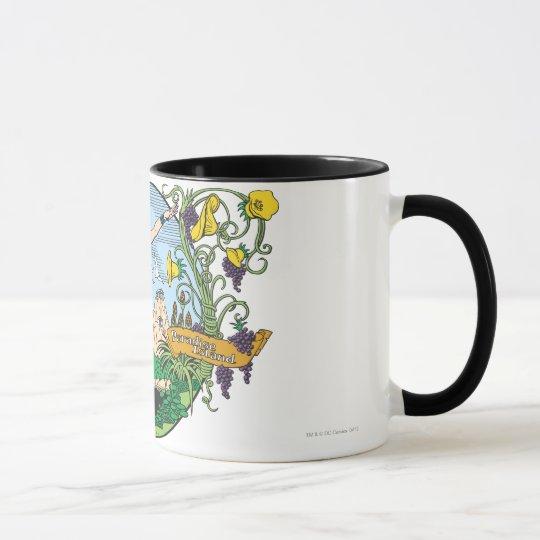 Wonder Woman Paradise Island Mug