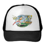 Wonder Woman Paradise Island Trucker Hat