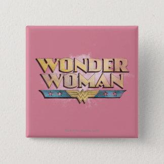 Wonder Woman Pencil Logo Button