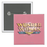 Wonder Woman Pencil Logo Buttons