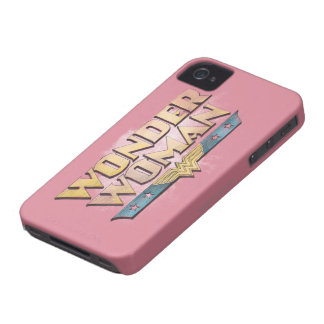 Wonder Woman Pencil Logo iPhone 4 Covers