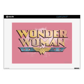 Wonder Woman Pencil Logo Laptop Skin