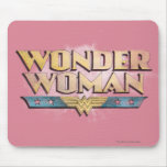 Wonder Woman Pencil Logo Mouse Pad
