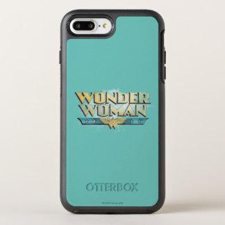 Wonder Woman Pencil Logo OtterBox Symmetry iPhone 8 Plus/7 Plus Case