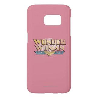 Wonder Woman Pencil Logo Samsung Galaxy S7 Case