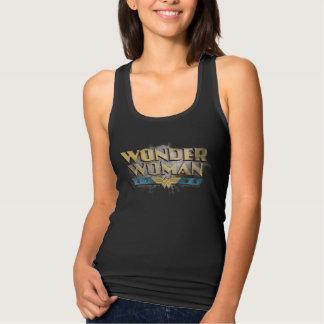 Wonder Woman Pencil Logo Tank Top