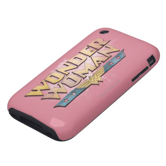 Wonder Woman Pencil Logo Tough iPhone 3 Cover