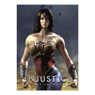 Wonder Woman Personalized Announcements