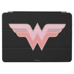 Wonder Woman Pink and Orange Mesh Logo iPad Air Cover