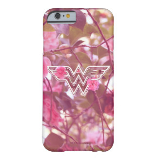 Wonder Woman Pink Camellia Flowers Logo Barely There iPhone 6 Case
