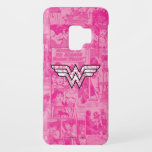 Wonder Woman Pink Comic Book Collage Logo Case-Mate Samsung Galaxy S9 Case