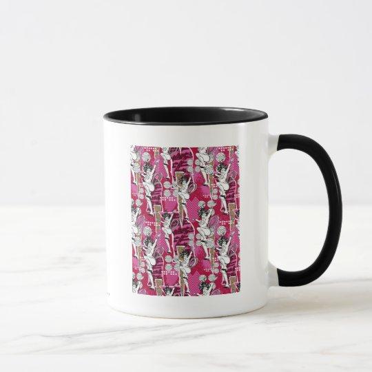 Wonder Woman Pink Pattern Mug
