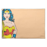 Wonder Woman Portrait Cloth Place Mat