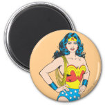 Wonder Woman Portrait Refrigerator Magnet