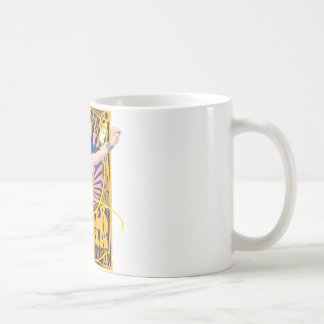 Wonder Woman Poster Classic White Coffee Mug