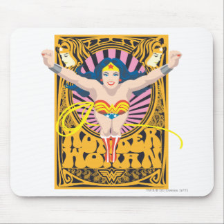 Wonder Woman Poster Mouse Pad