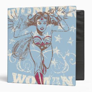 Wonder Woman Pow Vinyl Binders