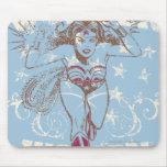 Wonder Woman Pow Mouse Pad