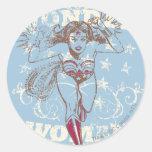 Wonder Woman Pow Sticker