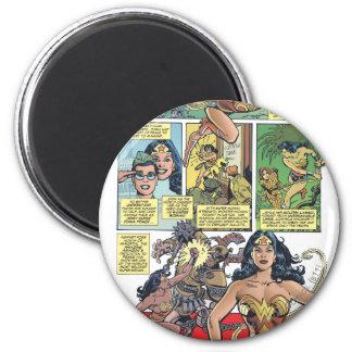 Wonder Woman Princess Diana 2 Inch Round Magnet