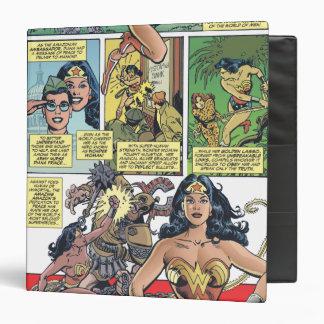Wonder Woman Princess Diana Binder