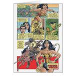 Wonder Woman Princess Diana Greeting Card