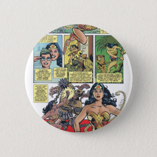 Wonder Woman Princess Diana Pinback Button