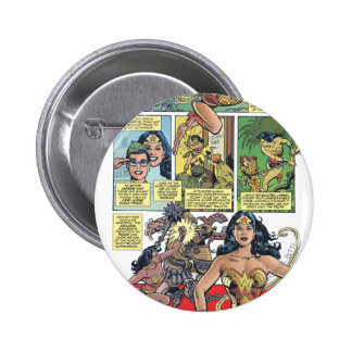 Wonder Woman Princess Diana Pinback Button