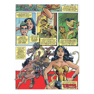 Wonder Woman Princess Diana Postcard