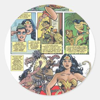 Wonder Woman Princess Diana Stickers