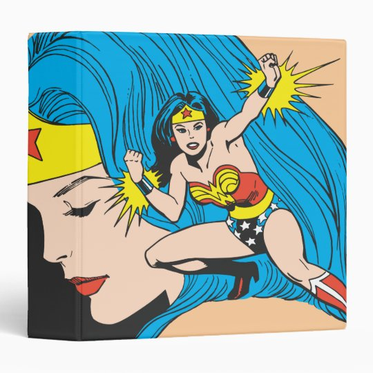 Wonder Woman Profile Background Binder